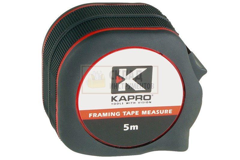 Рулетка kapro 660-30 рулетка р3н2д с держателем